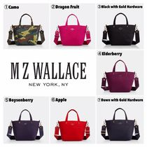 MZ WALLACE Casual Style Unisex Nylon 2WAY Shoulder Bags
