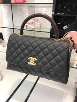 CHANEL MATELASSE Casual Style 2WAY 3WAY Plain Leather Party Style