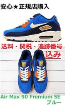 Nike AIR MAX 90 Blended Fabrics Street Style Sneakers