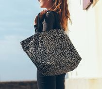 HERVE CHAPELIER Camouflage Casual Style Nylon Totes