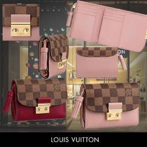 Louis Vuitton Calfskin Tassel Folding Wallets