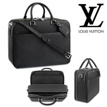 Louis Vuitton TAIGA Blended Fabrics Luggage & Travel Bags