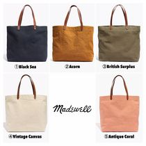 Madewell Casual Style 2WAY Plain Totes
