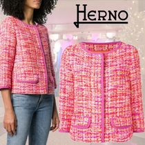 HERNO Short Blended Fabrics Jackets