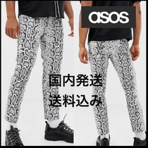 ASOS Printed Pants Other Check Patterns Denim Street Style