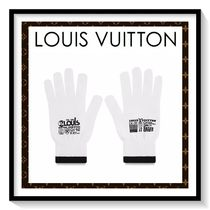 Louis Vuitton Unisex Plain Gloves Gloves