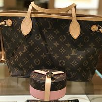 Louis Vuitton NEVERFULL Monogram Canvas Blended Fabrics 2WAY Bi-color Elegant Style