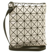 BAO BAO ISSEY MIYAKE Unisex Plain Party Style PVC Clothing Shoulder Bags