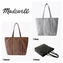 Madewell Casual Style Unisex Plain Totes