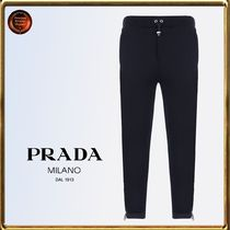 PRADA Cotton Joggers & Sweatpants