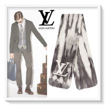 Louis Vuitton Unisex Cashmere Blended Fabrics Scarves