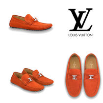 Louis Vuitton Moccasin Leather U Tips Loafers & Slip-ons