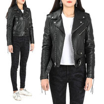 Saint Laurent Studded Biker Jackets