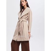 RESERVED Plain Medium Wrap Coats