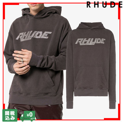 Pullovers Unisex Sweat Street Style Long Sleeves Oversized