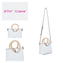 Betsey Johnson Casual Style Plain Shoulder Bags
