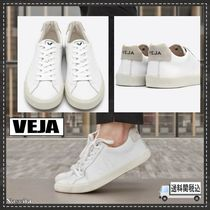VEJA Round Toe Rubber Sole Lace-up Casual Style Street Style