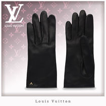 Louis Vuitton Leather Leather & Faux Leather Gloves
