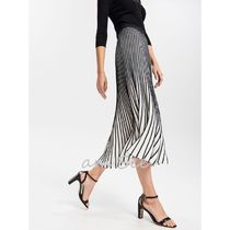 RESERVED Stripes Long Maxi Skirts