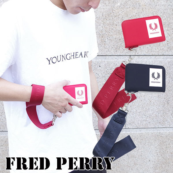 shop fred perry wallets & card holders