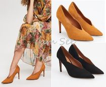 RESERVED Plain Pin Heels Office Style Pointed Toe Pumps & Mules