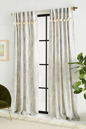 Anthropologie Unisex Blended Fabrics Collaboration Curtains