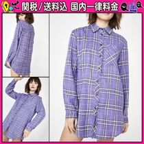DOLLS KILL Other Check Patterns Casual Style Long Sleeves Medium