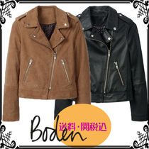 Boden Short Casual Style Suede Street Style Plain Jackets