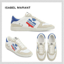 Isabel Marant Rubber Sole Casual Style Suede Low-Top Sneakers