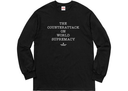 Supreme Hoodies Street Style Collaboration Cotton Hoodies 4