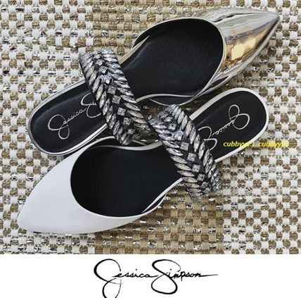 Casual Style Street Style Plain Leather Sandals