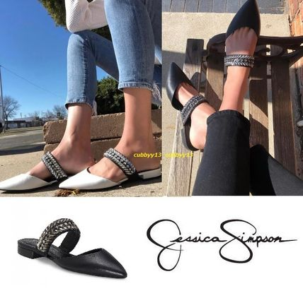 Casual Style Street Style Plain Leather Sandals Sandal
