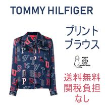Tommy Hilfiger Casual Style Silk Long Sleeves Medium Shirts & Blouses