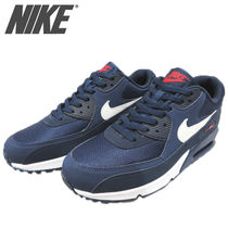 Nike AIR MAX 90 Street Style Leather Sneakers