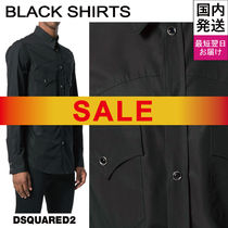 D SQUARED2 Long Sleeves Cotton Shirts
