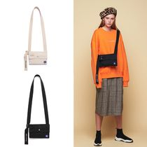 ANOTHER FRAME Unisex Street Style Collaboration Messenger & Shoulder Bags