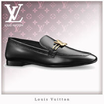 Louis Vuitton Leather Loafer Pumps & Mules