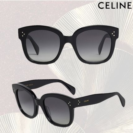 4a377abc509 CELINE 2019 SS Unisex Street Style Sunglasses (4S002CPLB.38NO) by ...