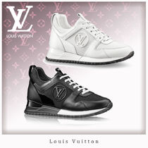 Louis Vuitton Casual Style Unisex Street Style Leather Low-Top Sneakers