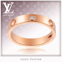 Louis Vuitton Unisex 18K Gold Rings