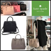 kate spade new york 2WAY Plain Leather Shoulder Bags