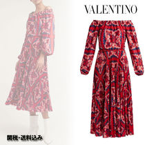 VALENTINO Flared Long Party Style Home Party Ideas Dresses