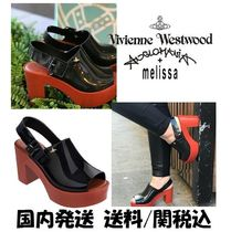 Vivienne Westwood Collaboration PVC Clothing Sandals
