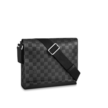 Louis Vuitton Messenger & Shoulder Bags Other Check Patterns Unisex Blended Fabrics Street Style 2