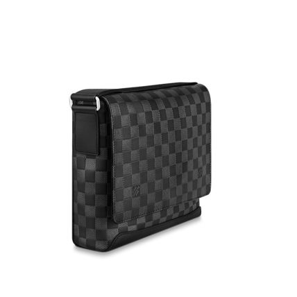 Louis Vuitton Messenger & Shoulder Bags Other Check Patterns Unisex Blended Fabrics Street Style 3