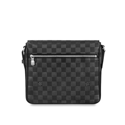 Louis Vuitton Messenger & Shoulder Bags Other Check Patterns Unisex Blended Fabrics Street Style 5