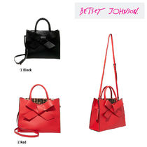 Betsey Johnson Casual Style Plain Totes
