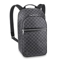 Louis Vuitton DAMIER GRAPHITE Other Plaid Patterns Canvas Blended Fabrics Street Style A4