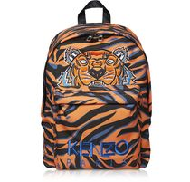 KENZO Unisex Nylon Street Style A4 2WAY Other Animal Patterns