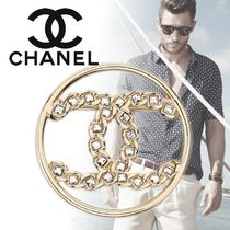 CHANEL Unisex Blended Fabrics Metal Watches & Jewelry